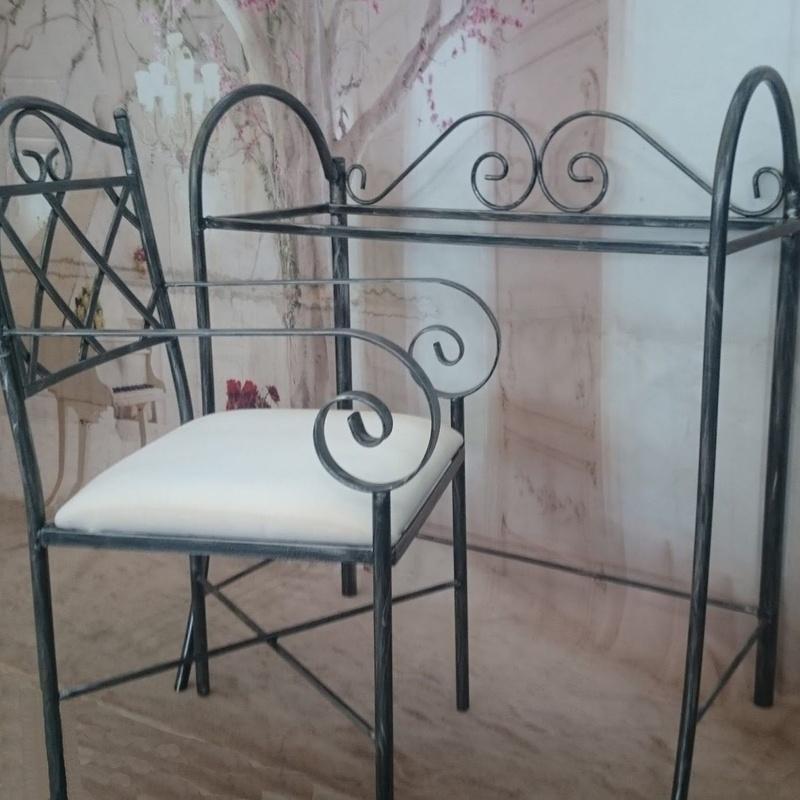 Conjunto Marsella: Catálogo de muebles de forja de Forja Manuel Jiménez