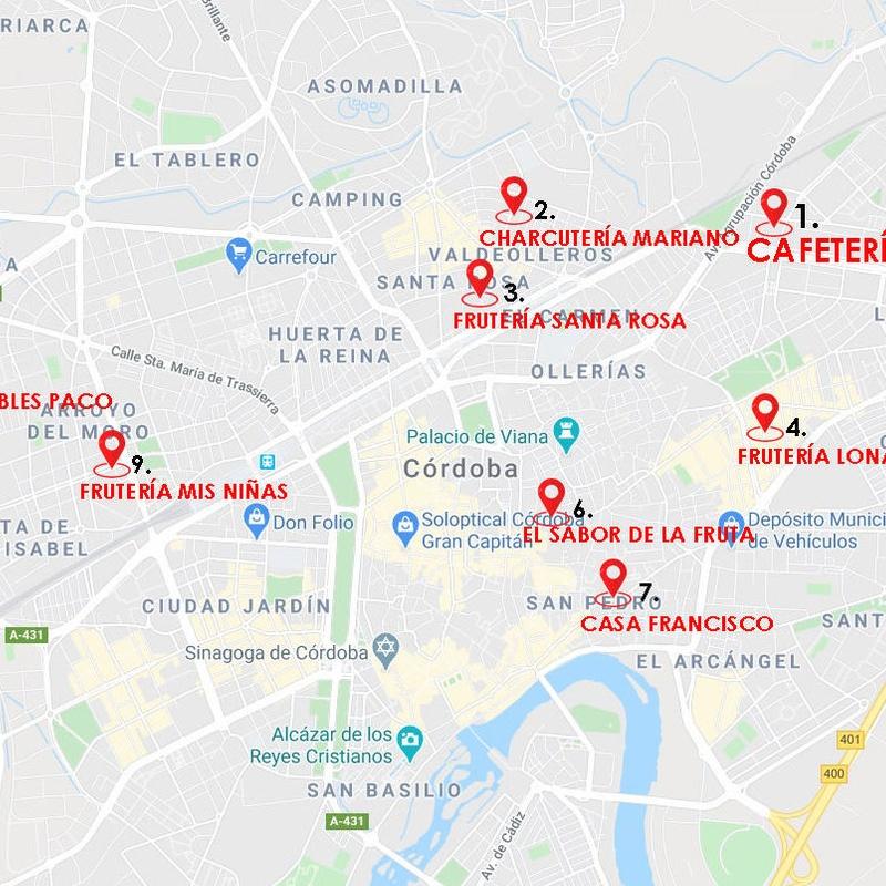Nuestros Puntos de Venta en Córdoba: Obrador de Pan El Vacar