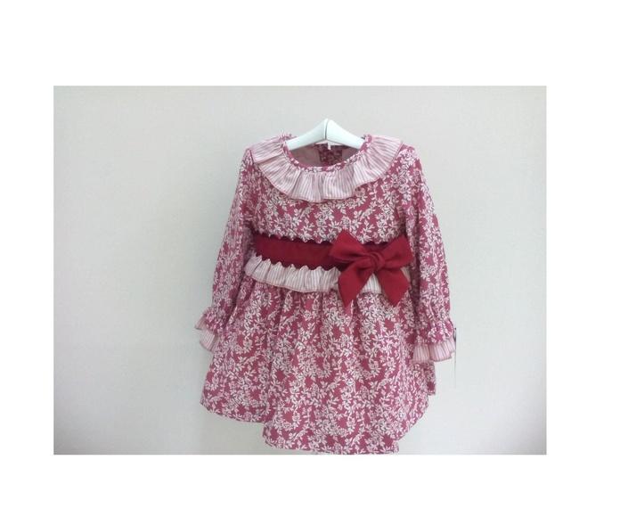Vestido niña BASMARTI.