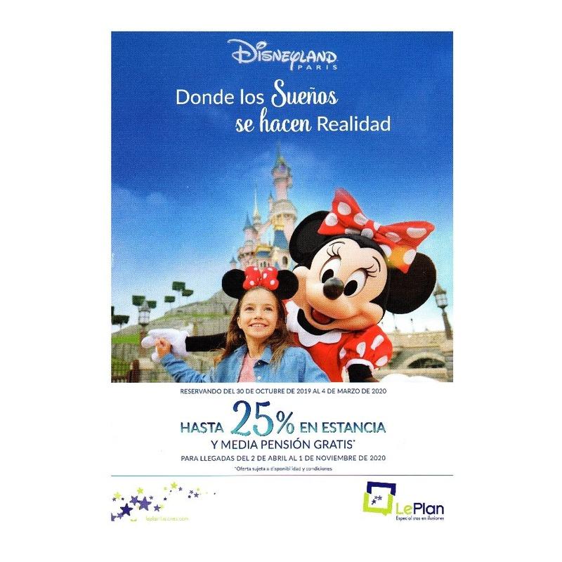 Disneyland París: Ofertas de Viajes Global Sur