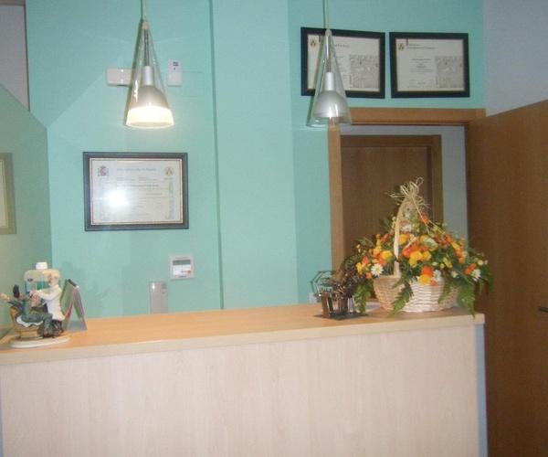 Clínica Dental Gregori Lloria, recepción