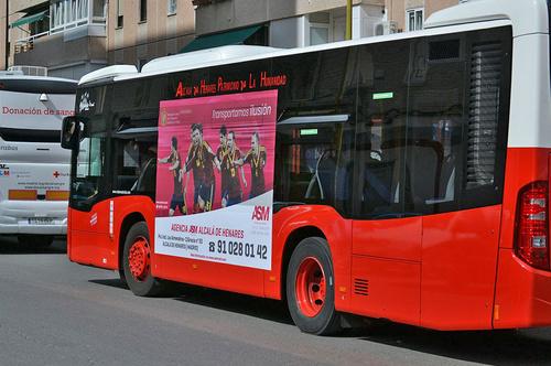 Empresa de transporte en Alcalá de Henares