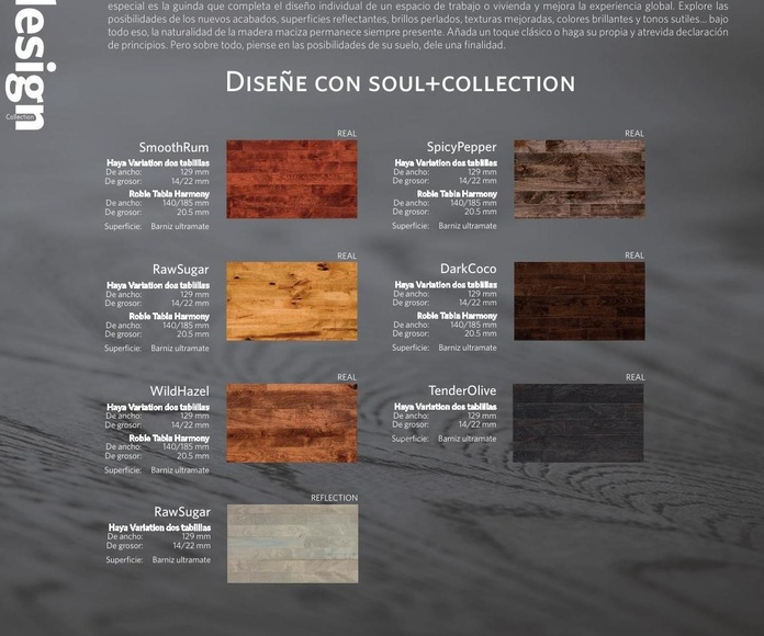 Junckers Design Collection.