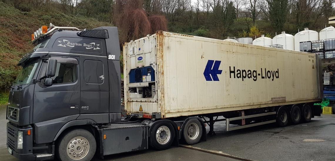 Transporte de contenedores en Bilbao y alrededores