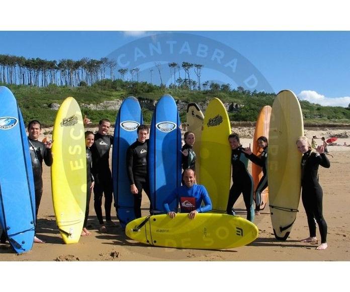 curso de surf semana