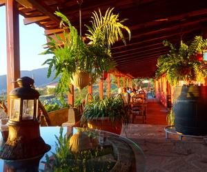Restaurante con espectaculares vistas al Valle de Aridane