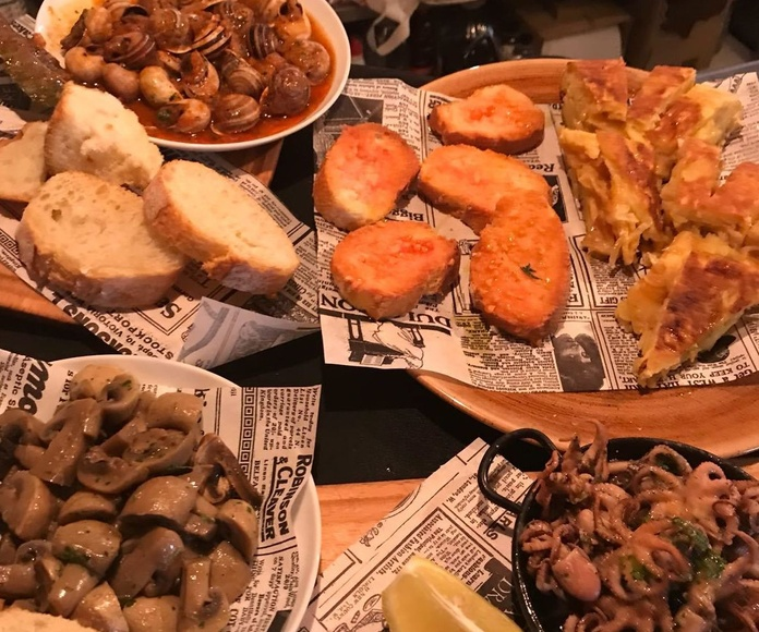 Comer caracoles Barcelona