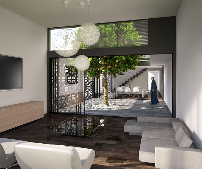 Diseño de vivienda en Yeda