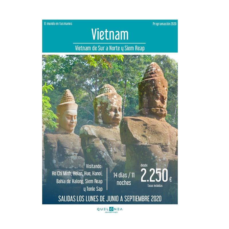 Vietnam. Programación 2020: Contrata tu viaje de Viajes Iberplaya