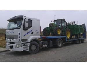 Camiones para transporte de maquinaria