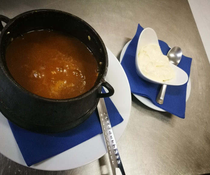Daily menus: Services de Restaurante Club Náutico Los Nietos
