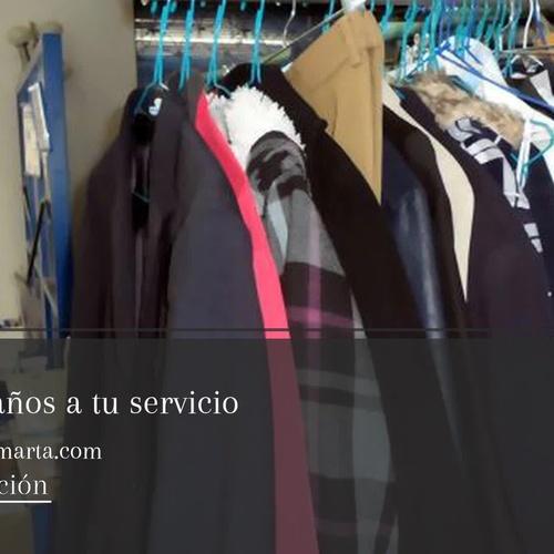 Tintorería lavandería en Peñagrande, Madrid | Tintorerías Marta