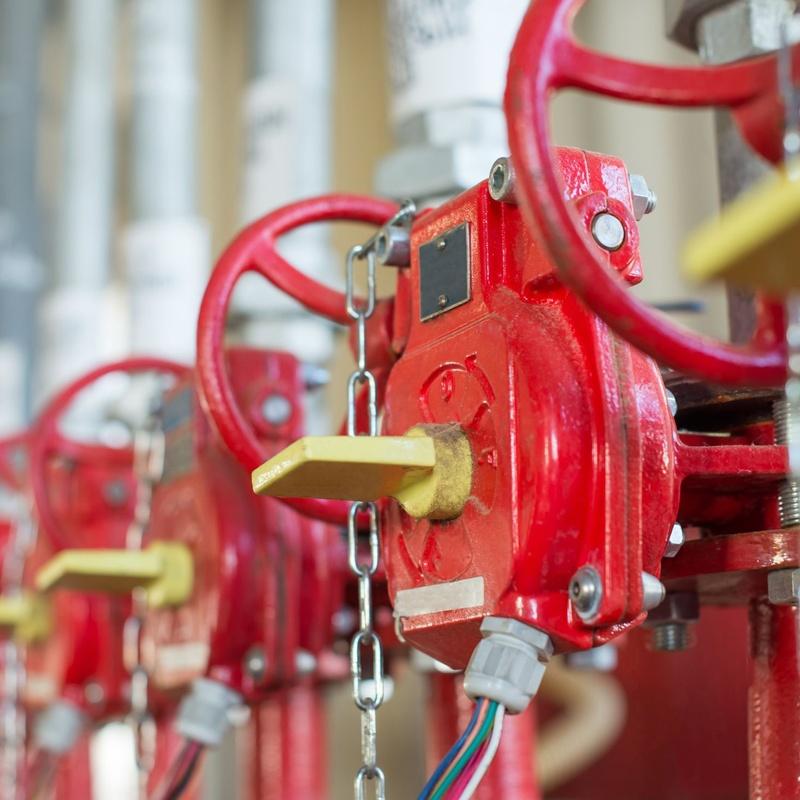 Puntos de control de sprinklers: Productos y servicios de Secur Friman Instalaciones