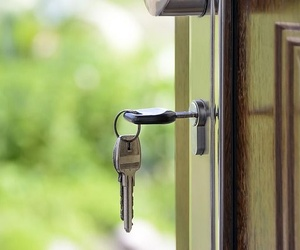 La seguridad de una puerta