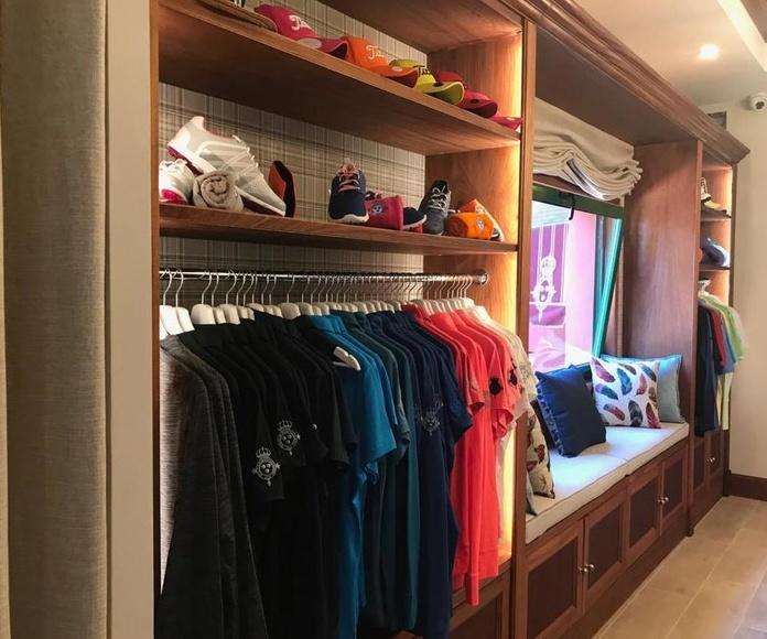 Renovación de la tienda Del Real Club de Golf de Tenerife: Servicios de AD7 Estudio
