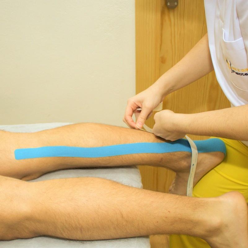 Kinesiotaping: Tratamientos de Clínica Fisioterapia Ana B. Quintana