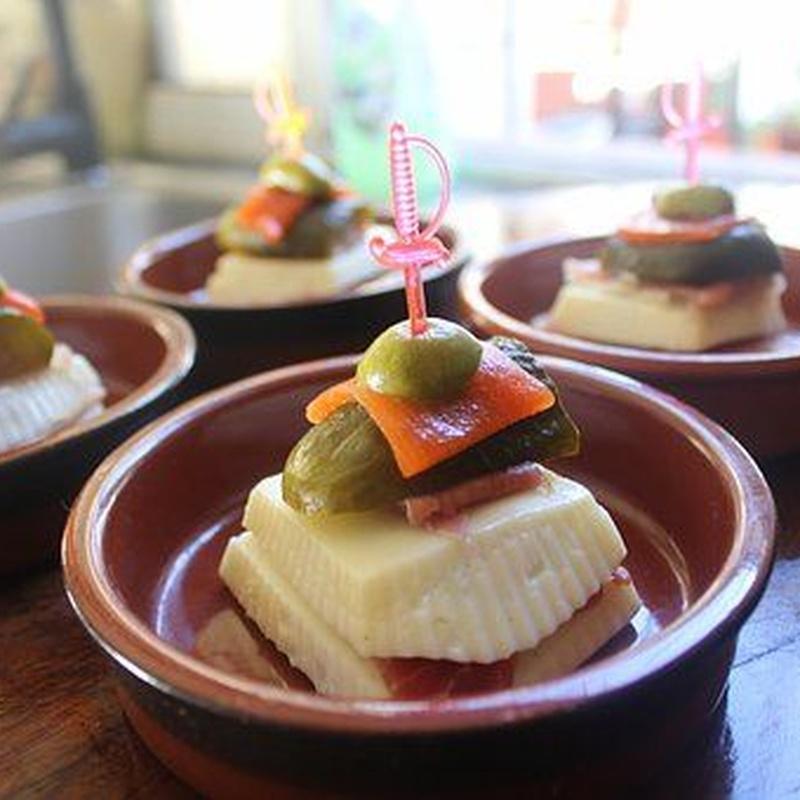 Raciones: Carta de Cafetería Tenerife Médano
