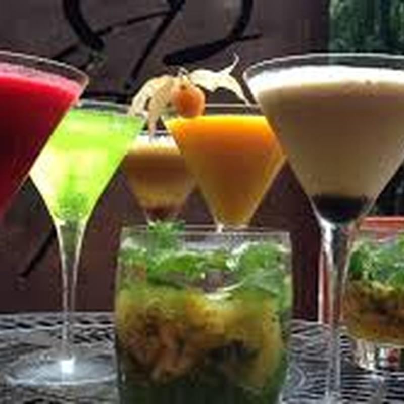 Cócteles y copas: En nuestro local de Taberna Rusty