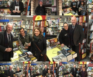 Librería Serret, presentación de libros