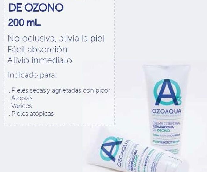 beneficios de la crema corporal de ozono