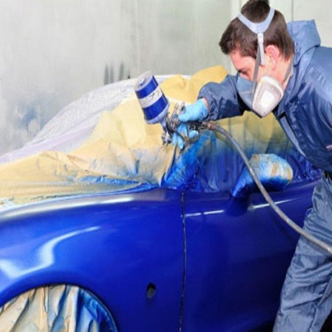 El color de pintura para los coches