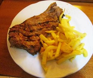 Carnes y brasa