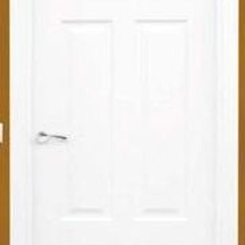 Puerta tipo ingles