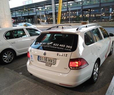 Madrid Airport Taxi Radio- Adolfo Suárez - Madrid Barajas Airport Shuttle.