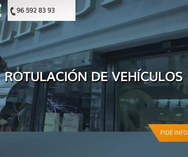 Empresa de rótulos de Alicante | Callejas Rotulación