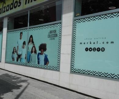 Impresión digital vinilo Madrid Centro