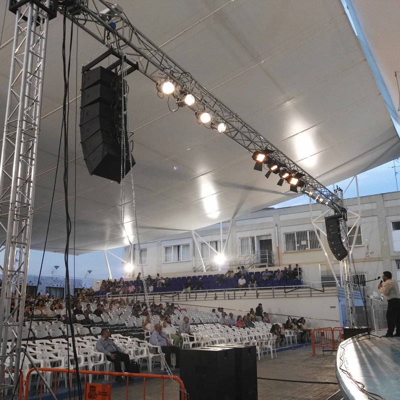 Estructura de truss: Nuestros servicios de Jukeval Eventos