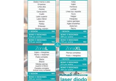 Tarifas de precios - Láser Diodo