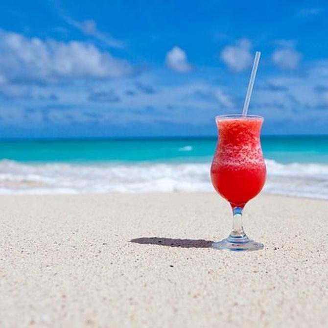 ¡En la playa todo sabe mejor!