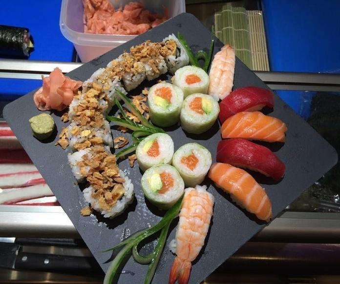 Hosomaki: Especialidades de Restaurante Isami
