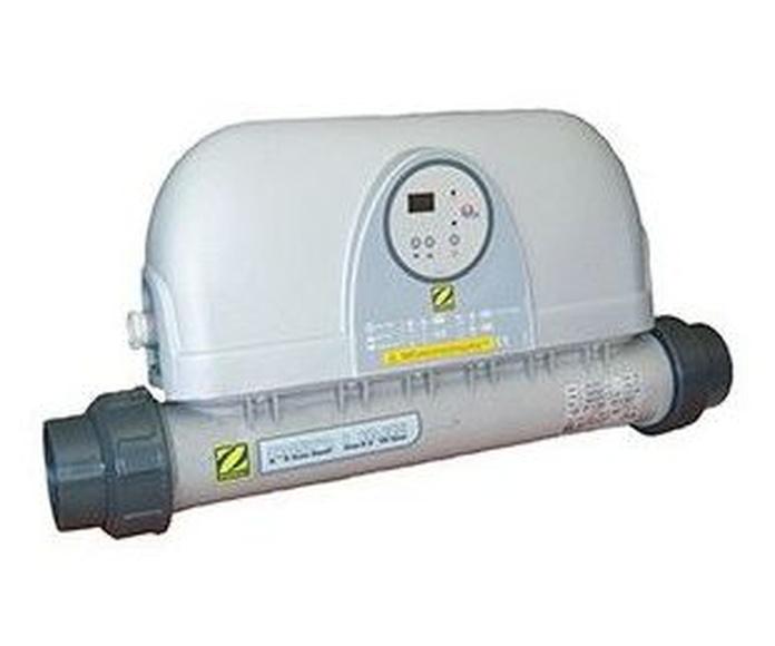 Climatización piscina calentador electrico
