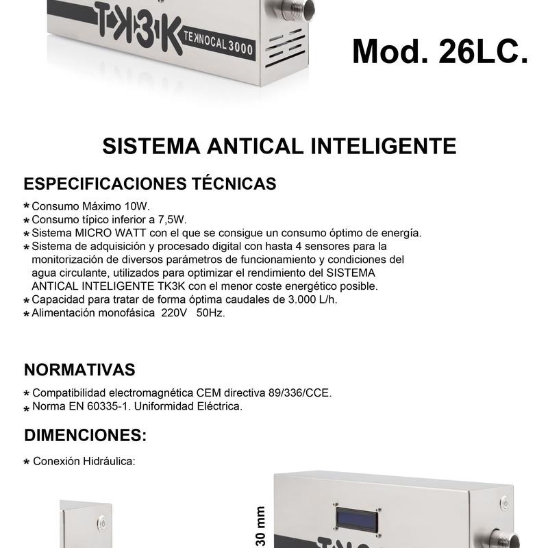 Ficha Técnica TK3K 26LC