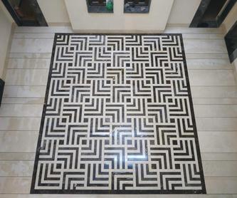 Decoración de interiores con mármol: Servicios de Mármoles Isidoro Ruiz