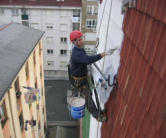 Seguridad en trabajos verticales.: Trabajos verticales Santander  de Trabajos Verticales Cantabria