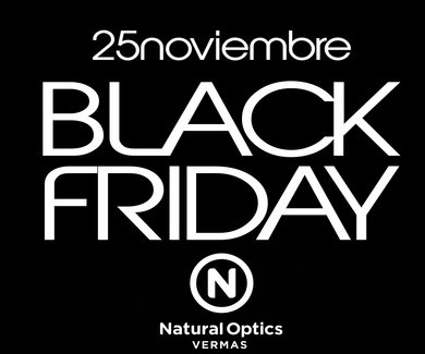 Black Friday en Natural Optics Vermas
