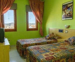 Habitación doble de nuestro hotel en Teruel
