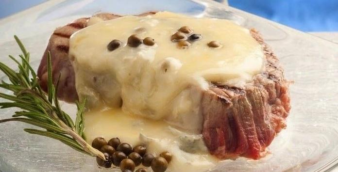 Solomillo de Cerdo al Roquefort:  de Restaurante Sevillano