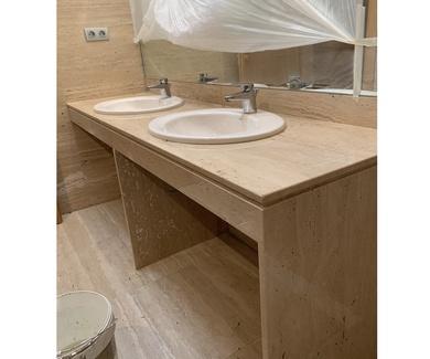 Últimos trabajos entregados a cliente: Encimeras de baño