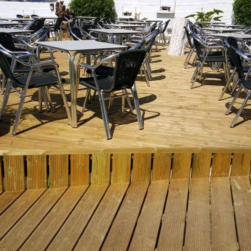Suelos: Productos y Servicios  de Carpintería Florencio Veiga