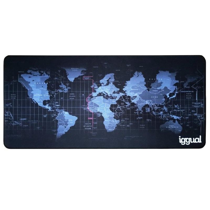 iggual Alfombrilla mapamundi XL teclado y ratón: Productos y Servicios de Stylepc