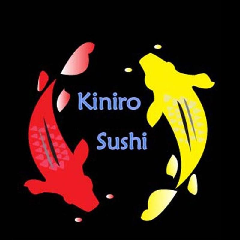 Dragon salmón flameado: Menús de Kiniro Sushi