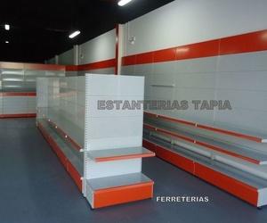 Estanterías para tiendas Málaga | Estanterías Tapia