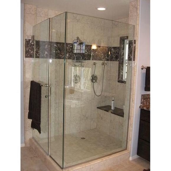 Mamparas de baño : Servicios  de Cristalería Jiménez