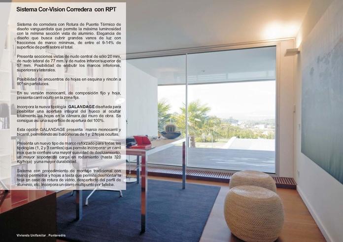 Cor Vision Corredera RPT: Catálogo de Jgmaluminio
