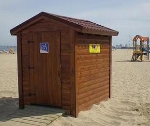 Alquiler y mantenimiento de sanitarios portátiles en playas