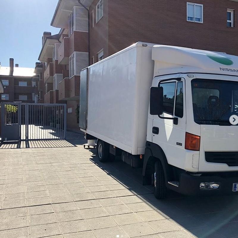 Mudanzas express: Servicios de Alba Moving Mudanzas y Guardamuebles